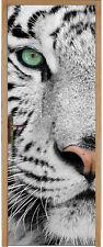 Sticker pour porte Tigre réf 410 (Tailles au choix)
