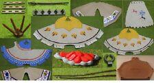 Playmobil piezas individuales indios carpas construían Western (z31)