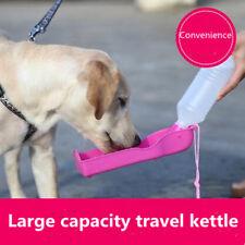 Potable Pets Dog Cat 350ml Water Feeding Bottle Dispenser Pet Collapsible Feeder