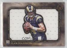 2015 Topps Valor Jumbo Relic Die-Cuts #VJR-SM Sean Mannion St. Louis Rams Card