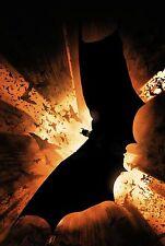 Batman Begins Textless Movie Poster |4 Sizes| #3 Art DVD BluRay Arkham PS4 xbox