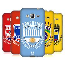 HEAD CASE FOOTBALL CREST GEL SOUPLE CASE Pour SAMSUNG Phone 3
