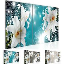 WANDBILDER Blumen Lilien VLIES LEINWAND BILD XXL BILDER KUNSTDRUCK 008712P