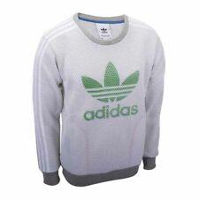 Adidas Originals - LUXE TREFOIL CREW SWEATSHIRT - FELPA CASUAL - art.  AJ7059-C