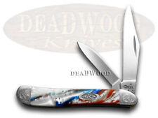 Case Xx Engraved Bolster Series Genuine Star Spangled Peanut Pocket Knives
