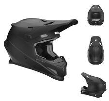 Thor Crosshelm Sector MX Enduro Motocross Helm schwarz matt