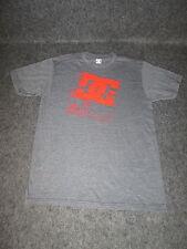 Mens Genuine DC Casual Fashion skate bmx mx Tee T-Shirt S M L XL XXL black DC76