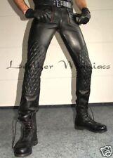 Lederhose Lederjeans mit Polsterung gepolstert leather trousers padded