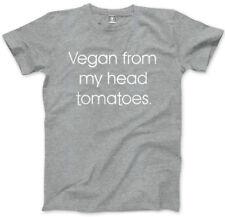 Vegan dalla mia testa Pomodori Da Uomo Unisex T-shirt