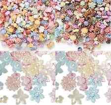 Bead Mix Acrylic Plastic Kids Flower Moon Star Animal Fish Pony Round, 100 Qty