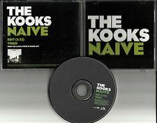 THE KOOKS Naive w/ RARE EDIT & ENHANCED VIDEO USA PROMO DJ CD single 2006