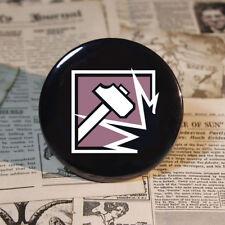 Slege Badge Operator Logo Pinbacks Game Button Tinplate 58mm / 2.2 inch For R6