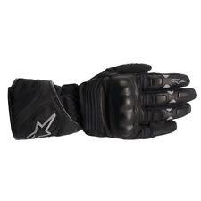Alpinestars Vega Drystar Leather Motorcycle Gloves Black