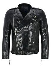 Jason Momoa Aquaman Movie Leather Jacket Cow Glaze Leather Classic Biker 1427
