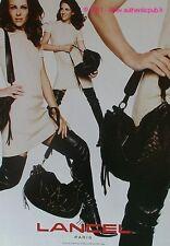 PUBLICITE LANCEL SAC A MAIN DE 2005 BAG BOLSO FRENCH AD PRINT PUB COULEUR