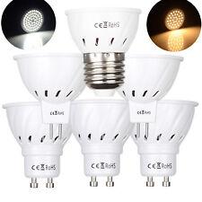 LED SpotLight GU10 MR16 3W 4W 5W 6W 7W 2835 SMD White Bulb Lamp 110V 220V DC 12V