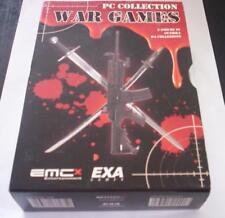 PC COLLECTION WAR GAMES 3 giochi pc originali NUOVI