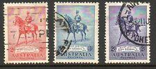 Australia 1935 Jubileo De Plata Fina Usado Set De Sellos