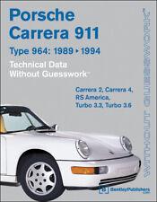 Porsche 911 Carrera (964) Technical Data Manual (1989-1994) XXXPC94