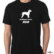 Bedlington Terrier Mom Tee Shirt rothbury