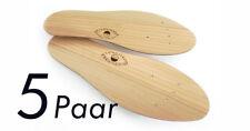 5 Paar Original ZEDERN-SOHLEN Zedernholzsohlen gegen Fussgeruch und Schweißfüße