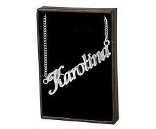 Name Necklace Karolina – 18K Gold Plated | Wedding Personalised Birthday Gift