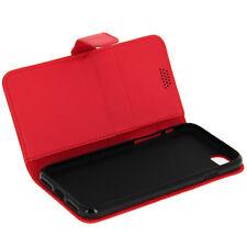 Etui Etui à Clapet Portefeuille pour iPhone 7 et iPhone 8 - Rouge