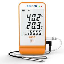 Elitech GSP-6 Temperature Humidity Data Logger Recorder Refrigeration Chain USB