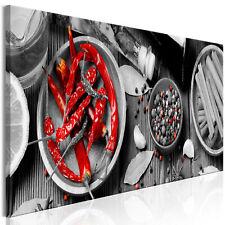 GEWÜRZE KÜCHE Wandbilder xxl Bilder Vlies Leinwand Leinwandbilder j-B-0076-b-a