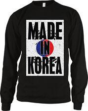 Made In Korea Taegukgi South Korean Pride Long Sleeve Thermal