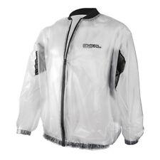 O'neal Splash Rain Jacket Motorrad Regenjacke transparent