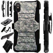 Lux-Guard For iPhone 6/7/8 PLUS/X/XR/XS Max Phone Case Cover DIGITAL CAMO ACU