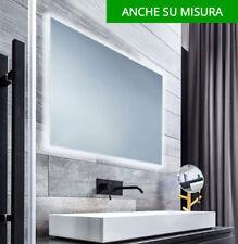 SU MISURA RICHIESTA SPECCHIO BAGNO RETROILLUMINATO LUCE A LED specchiera