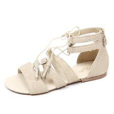 C9634 sandalo bimba TWIN-SET SIMONA BARBIERI scarpa beige shoe kid girl