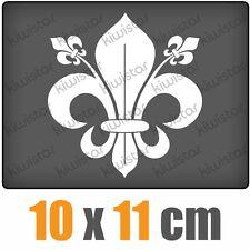 französische Lilie csf0527 10 x 11 cm JDM  Sticker Aufkleber