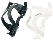 ZEFAL SPRING RESIN ROAD MTB BIKE CYCLE BOTTLE CAGE (Black, White)
