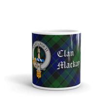 Mackay Clan Crest Coffee / Tea Mug - Scottish Cup 10oz / 295ml