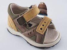 BOOMERS Bambini Kinder Schuhe 19 21 25 Braun Beige Sandalen NEU