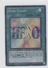 2012 Yu-Gi-Oh! Ra Yellow Mega-Pack Base Unlimited #RYMP-EN027 Hero Flash!! Card