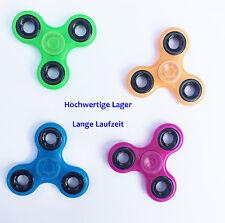 Figet Finger Hand Spinner Anti Stress Toy ADHS leuchtend versch Farben Focus