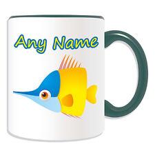 Regalo Personalizado Taza de peces tropicales dinero Caja Taza Animal Insecto Tema Mar