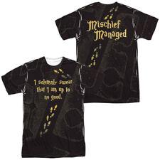Harry Potter - Marauder's Map Sublimation Front & Back Adult T Shirt