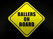 Uomini Coi controcoglioni A BORDO sticker-Gumball 3000, Basket