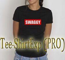T-Shirt femme SWAGGY JUSTIN BIEBER -Tee shirt  # SWAGGY justin Bieber- XS au XL