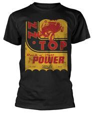 """ZZ Top """"poder Camiseta-Nuevo Y Oficial!"""