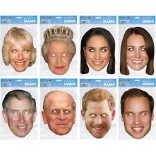 Royal Family Face Mask Celebrity Party Hen Stag Du Masks Fun British Royals UK