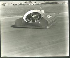 1960 vintage Photograph lot of 4 hovercraft Beggs Gemobile 8x10s CA B18 car