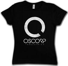 OSCORP INDUSTRIES LOGO WOMAN T-SHIRT - Osbourne Amazing Elektro Spider Man