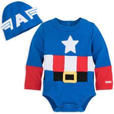 NWT Disney Store Captain America Baby Costume Bodysuit Avengers Many sizes