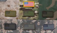 Mil Spec Monkey MSM Mini American Flag PVC Patch-FORWARD-Choose Your Color